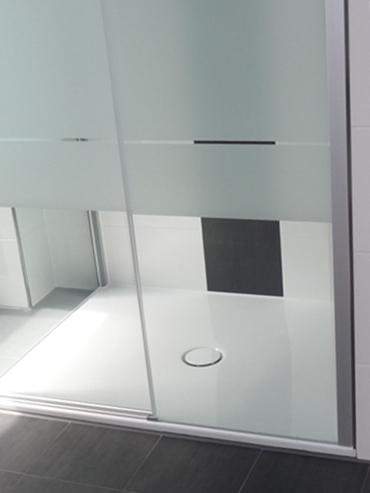 Referenzbad Detail Dusche