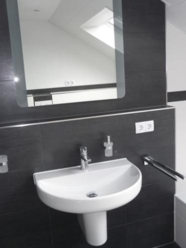 Referenz der Waschplatz im Familienbad