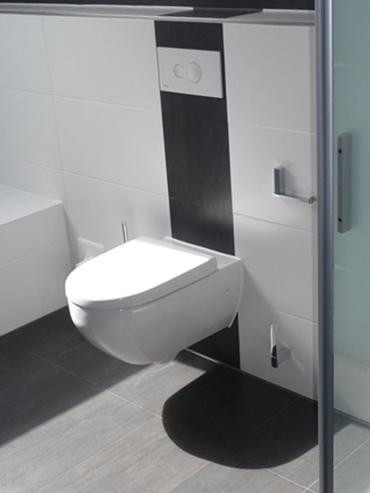Referenz das WC im Familienbad