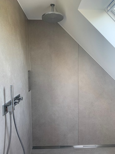 Badreferenz Detail Dusche