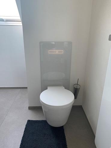 Badreferenz Detail WC- Platz