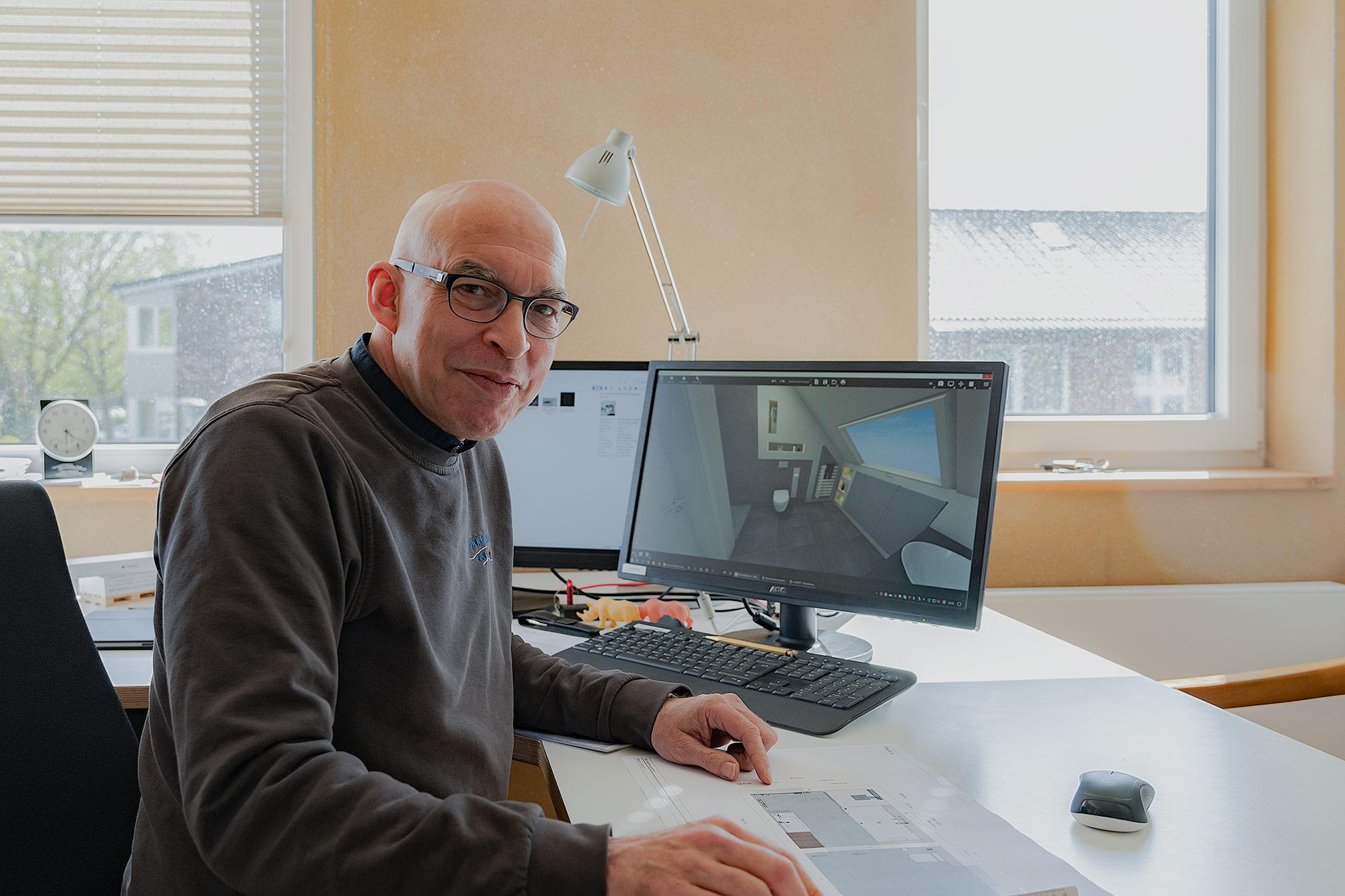 Inhaber Ulrich Mittmann aus Kleve